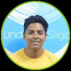 Javier Gonzales diseñador gráfico practicante